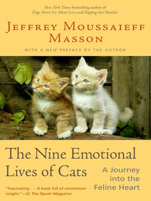 cover image of The Nine Emotional Lives of Cats