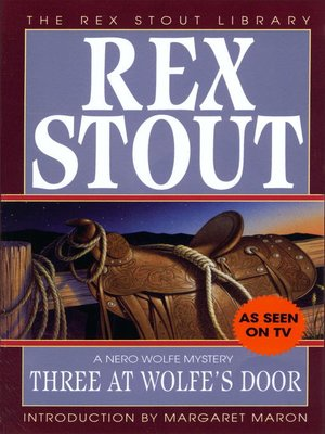 cover image of Three at Wolfe's Door