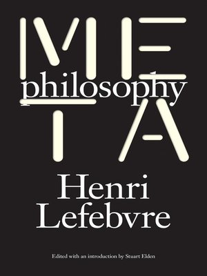 cover image of Metaphilosophy