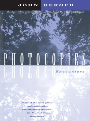 cover image of Photocopies