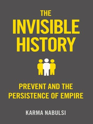 cover image of The Invisible History