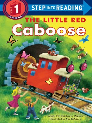 cover image of The Little Red Caboose