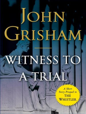 cover image of Witness to a Trial