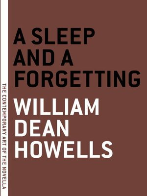 cover image of A Sleep and a Forgetting