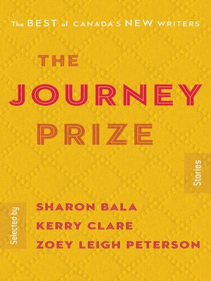 cover image of The Journey Prize Stories 30