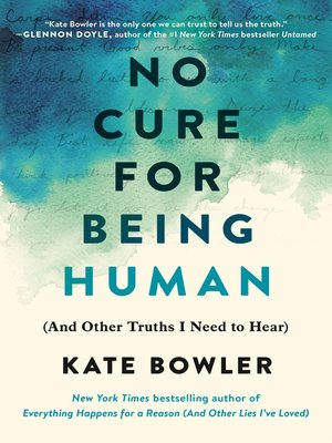 cover image of No Cure for Being Human