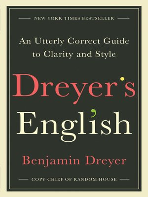 cover image of Dreyer's English