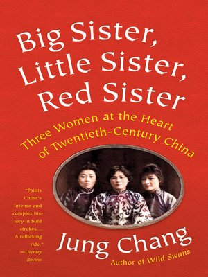 cover image of Big Sister, Little Sister, Red Sister