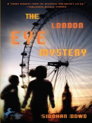 cover image of The London Eye Mystery