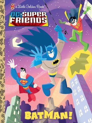 cover image of Batman! (DC Super Friends)