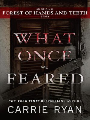 cover image of What Once We Feared