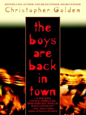 cover image of The Boys Are Back in Town