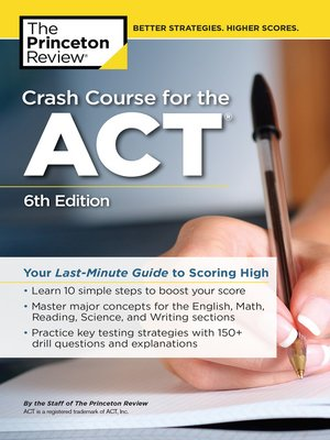 cover image of Crash Course for the ACT