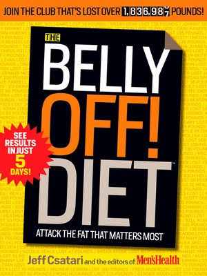 cover image of The Belly Off! Diet