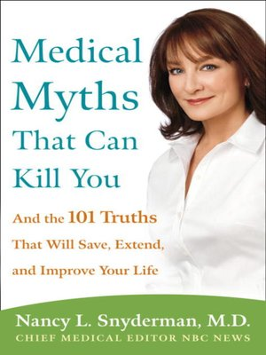 cover image of Medical Myths That Can Kill You