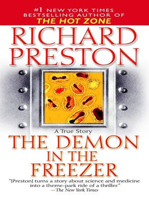 cover image of The Demon in the Freezer