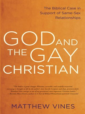 cover image of God and the Gay Christian