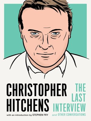 cover image of Christopher Hitchens