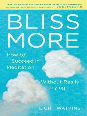 cover image of Bliss More
