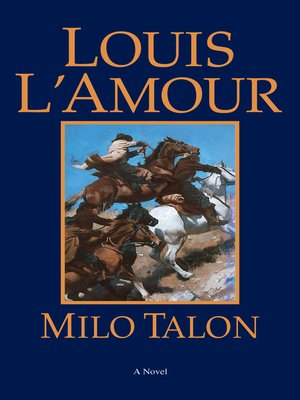 cover image of Milo Talon
