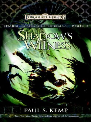 cover image of Shadow's Witness