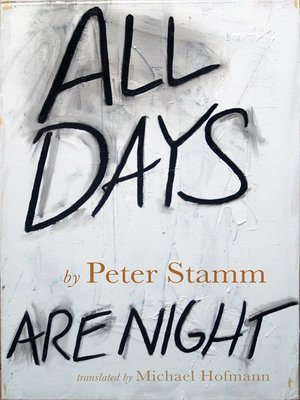 cover image of All Days Are Night