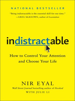 cover image of Indistractable