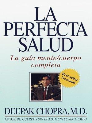 cover image of La perfecta salud