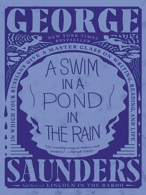 cover image of A Swim in a Pond in the Rain