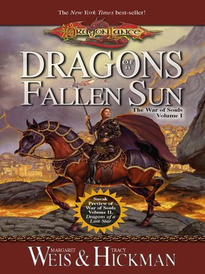 cover image of Dragons of a Fallen Sun