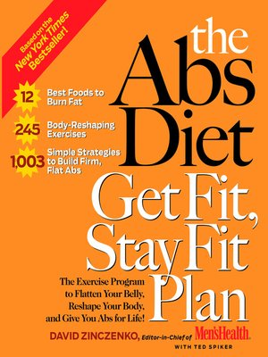 cover image of The Abs Diet Get Fit, Stay Fit Plan