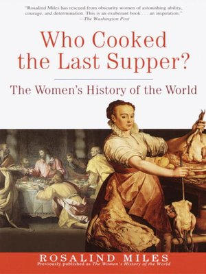 cover image of Who Cooked the Last Supper?