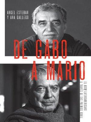 cover image of De Gabo a Mario