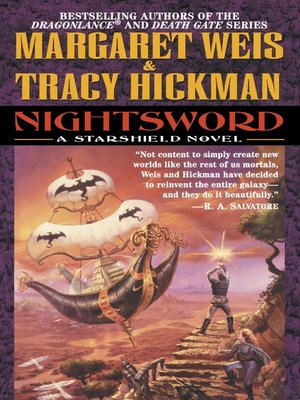 cover image of Nightsword