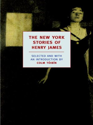 cover image of The New York Stories of Henry James