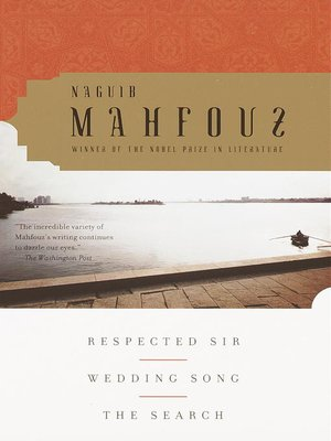 cover image of Respected Sir, Wedding Song, the Search