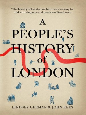 cover image of A People's History of London