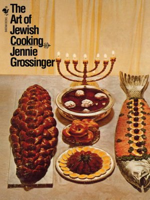 cover image of The Art of Jewish Cooking