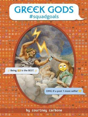 cover image of Greek Gods #squadgoals