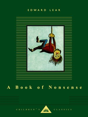 cover image of A Book of Nonsense