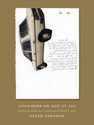 cover image of Anywhere or Not at All