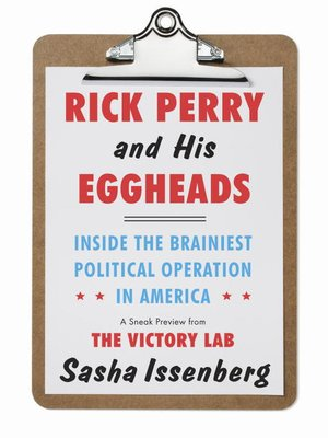 cover image of Rick Perry and His Eggheads