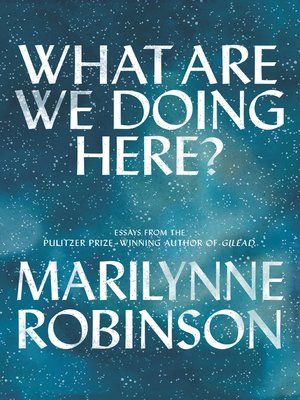 cover image of What Are We Doing Here?
