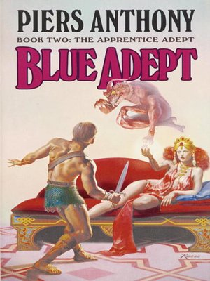 cover image of Blue Adept
