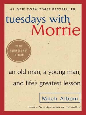 cover image of Tuesdays With Morrie