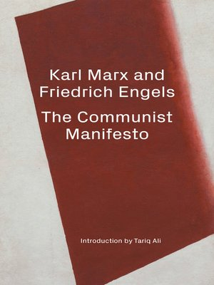 cover image of The Communist Manifesto / the April Theses