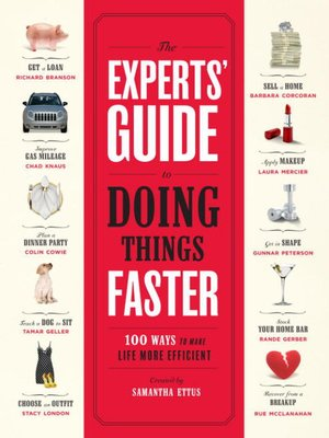 cover image of The Experts' Guide to Doing Things Faster