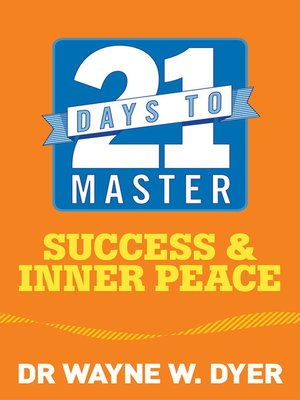 cover image of 21 Days to Master Success and Inner Peace