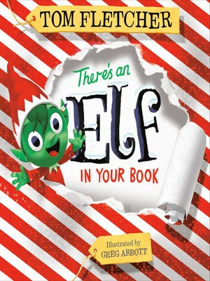 cover image of There's an Elf in Your Book