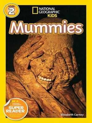 cover image of National Geographic Readers: Mummies